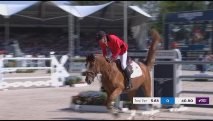 Jos Verlooy pakt brons op EK Jumping