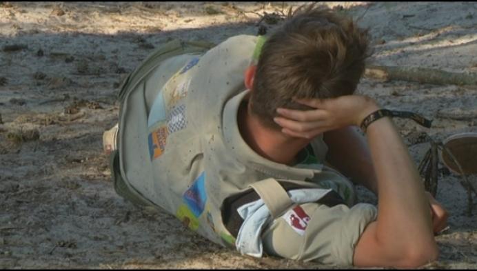 Scouts start 'Scoutmoedig' jaar in de Hoge Rielen
