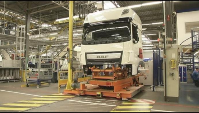 100 000ste zuinige truck bij DAF in Oevel