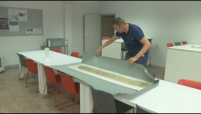 Waardevol perkament uit 15e eeuw gerestaureerd
