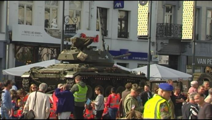 Turnhout ontvangt militaire colonne voor 75 jaar bevrijding