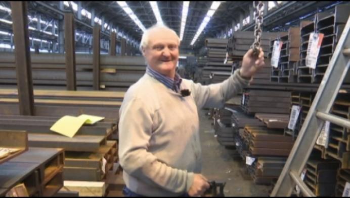Jef Boonen selecteert al 55 jaar het juiste staal