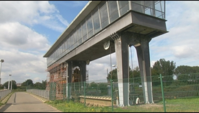 Fietsbrug aan stuw Nekkerspoel-Borcht 2 maanden dicht