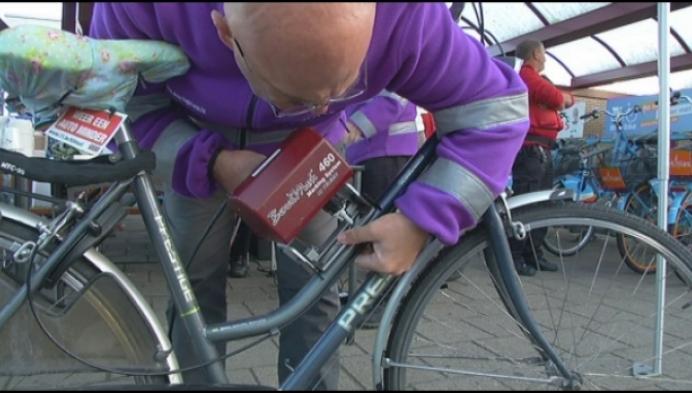 Graveren belangrijk ondanks daling fietsdiefstallen