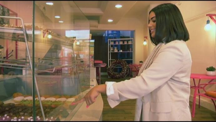 Koop eens een donut met Belgische franken
