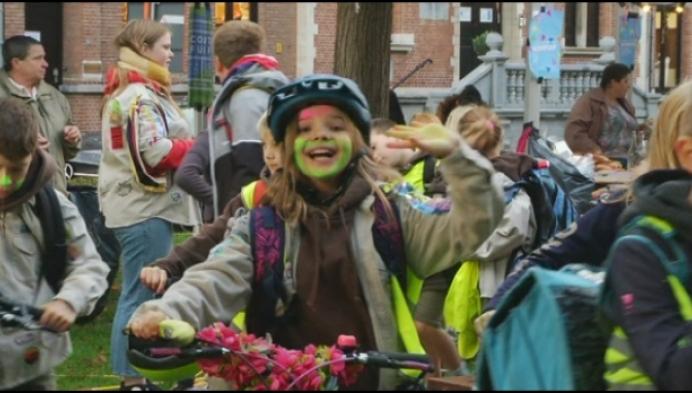 400 Berlaarse jongeren vieren Dag van de Jeugdbeweging