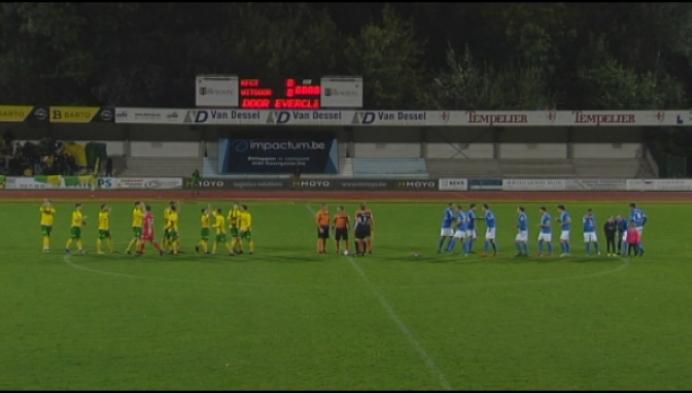 Turnhout en Witgoor zorgen voor thriller: 3-3