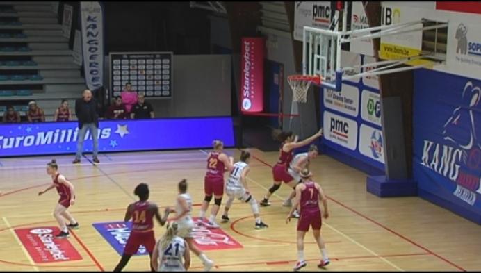 Kangoeres Mechelen verliest in het vrouwenbasket nipt van Namen
