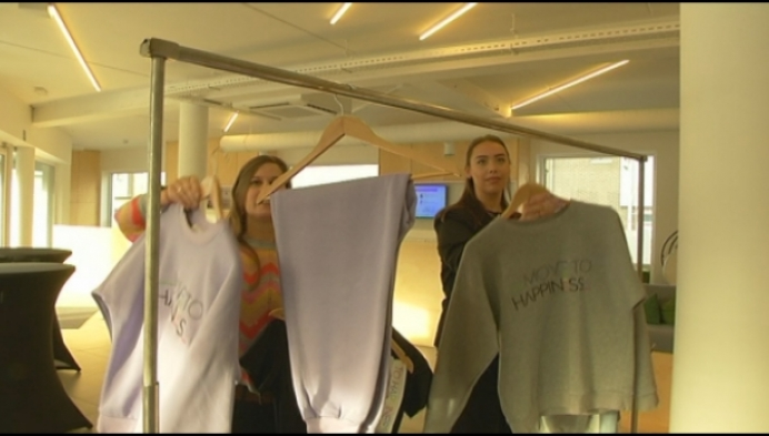 Herenthoutse ontwerpt sportkledinglijn voor fitnesszaak