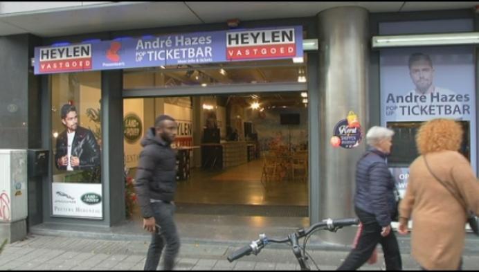 De Nacht opent pop-up ticketverkoop André Hazes