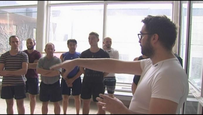 Sportoase leidt redders op voor nieuw zwembad Heist