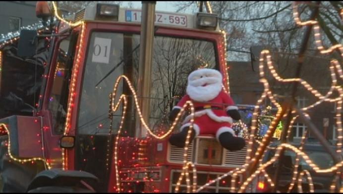 Eerste Molse Tractor kerstrun groot succes