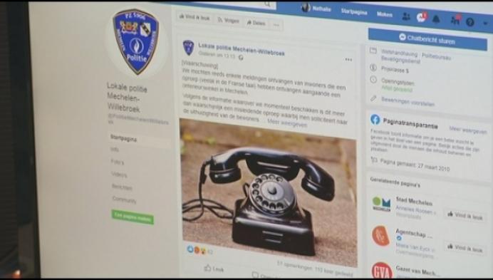 Politie waarschuwt voor verdachte telefoontjes
