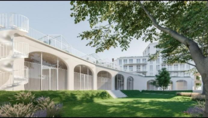 Artenova gebouw maakt plaats voor groen woonproject