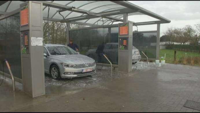 Herentalse carwash is vele inbraken beu