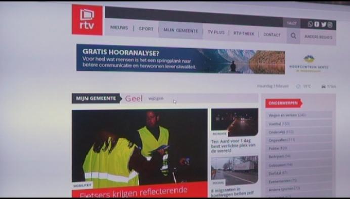 Nieuwe website RTV biedt meer mogelijkheden