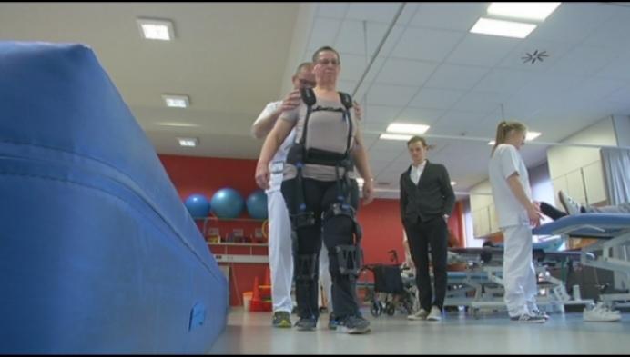 Geels ziekenhuis test nieuwe staprobot