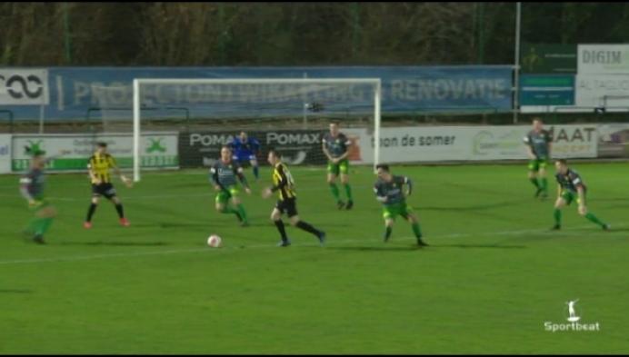 Witgoor dient Lyra-Lierse eerste nederlaag toe in twintig wedstrijden