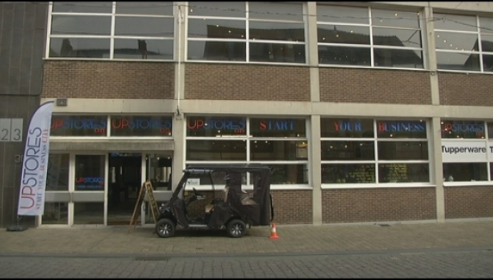 Upstores Herentals: veel winkels gezellig dicht bij elkaar