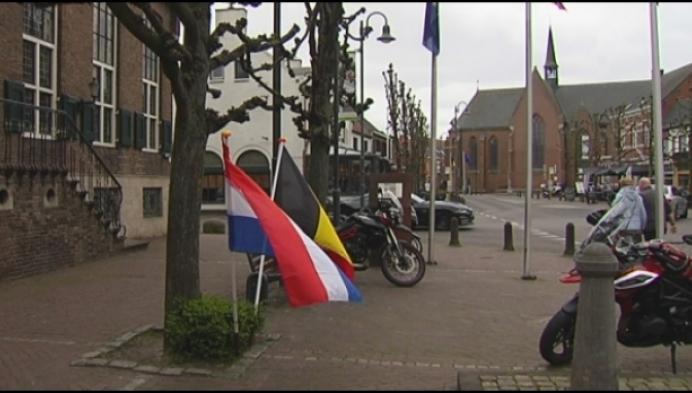 Raar Baarle: Belgische café gesloten, Nederlandse ernaast open