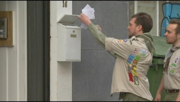 Scouts Mechelen toont warm hart in coronatijd