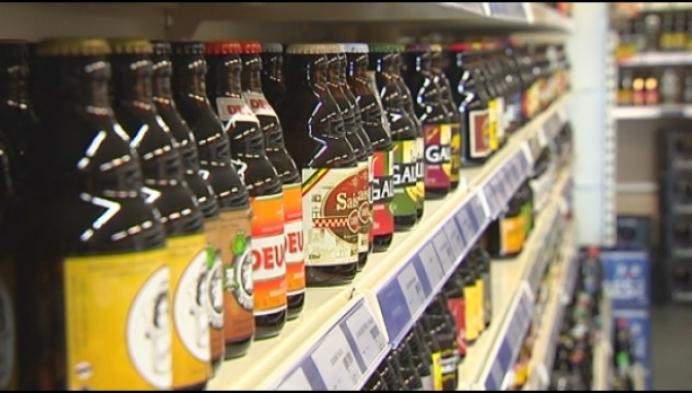 Drankenhandels draaien minder omzet