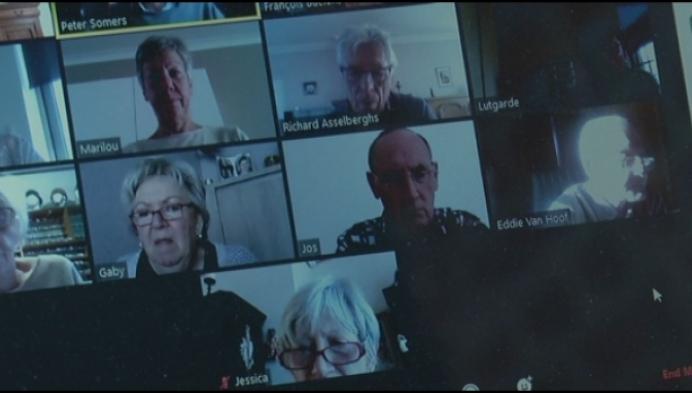 Duffelse senioren krijgen computerles van op afstand