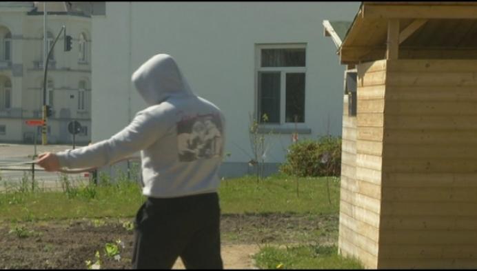 Mechelse gedetineerden onderhouden tuin woonzorgcentrum
