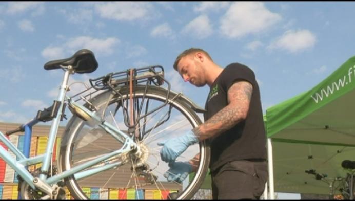 Gratis fietsonderhoud voor Mechelse woonzorgcentra