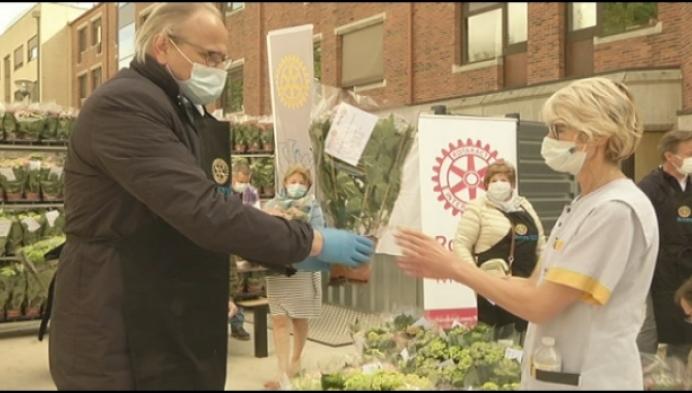 Meer dan 3.000 plantjes voor ziekenhuispersoneel