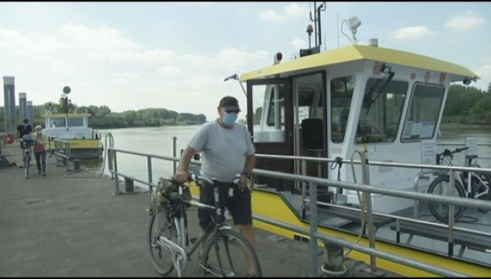 Veerboot Klein-Brabant verwacht druk Hemelvaartweekend