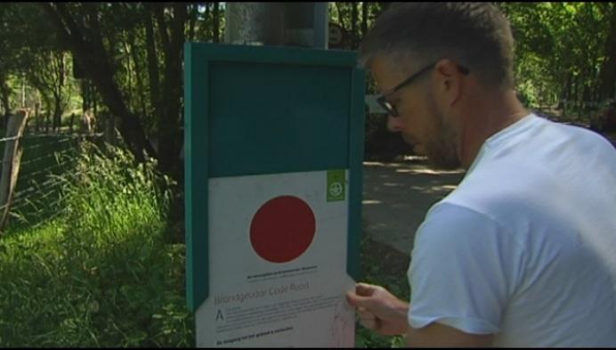Code rood: natuurgebied De Liereman gaat dicht