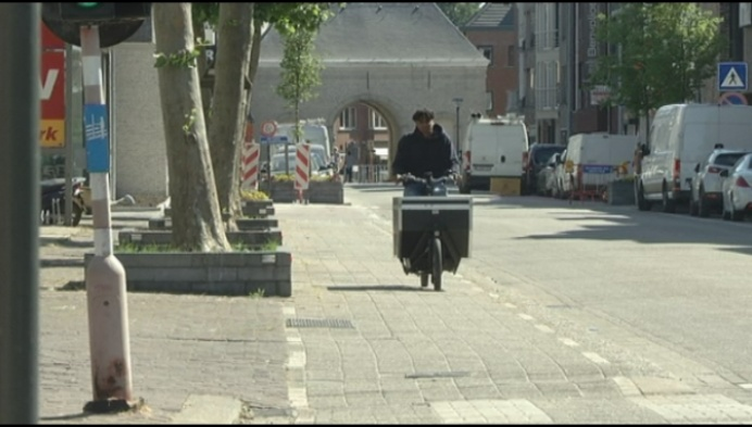 Ook Herentals heeft voortaan een fietskoerier