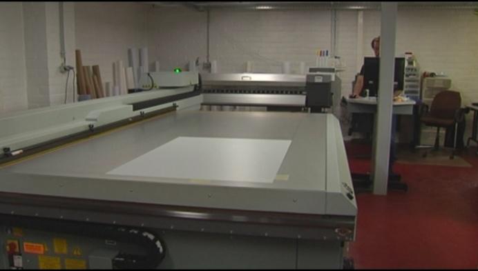 Ook drukkerijen hebben corona-werk