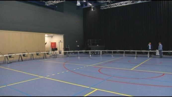 Bornemse gemeenteraad vindt plaats in... sporthal