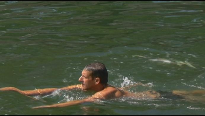 Warm weer op komst, maar zwemmen in vaart of Dijle is verboden