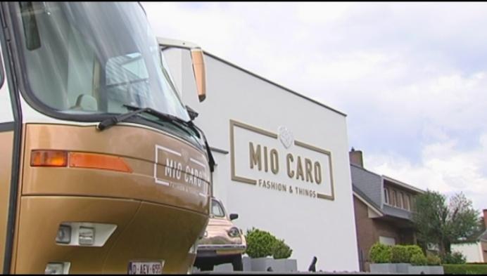 Mio Caro trekt Vlaanderen door met kledingwinkel op wielen