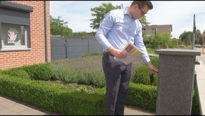 Kamerlid Reccino Van Lommel krijgt poederbrief in de bus