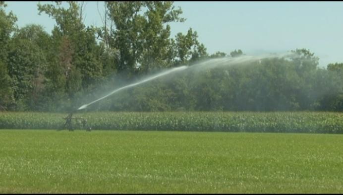 Pidpa stelt irrigatiewater ter beschikking van landbouw