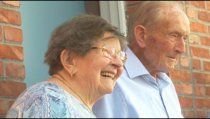 Martha en Johannes uit Gierle 70 jaar getrouwd