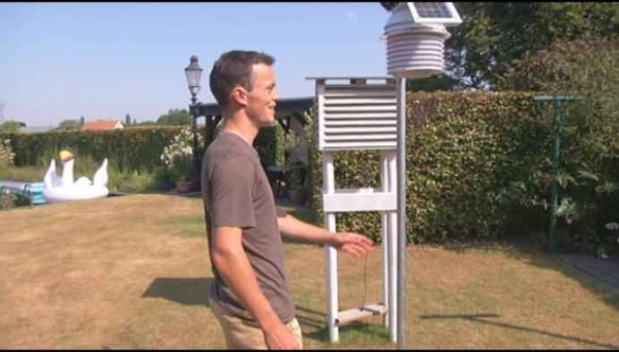 Doctoraatsstudent uit Merksplas bouwt eigen weerstation met steun van boeren