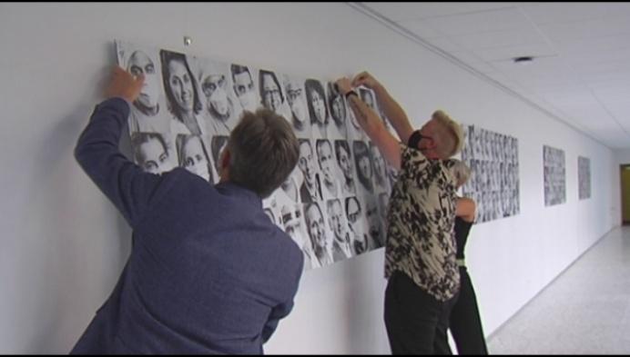 93 zorgverleners geportretteerd in Imeldaziekenhuis