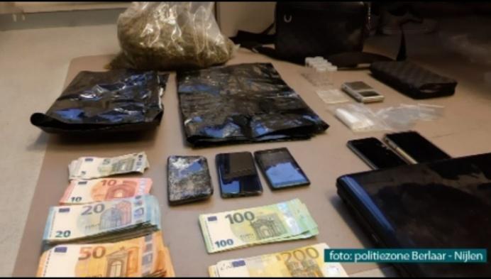 Politie vindt meer dan kilo cannabis en 8000 euro cash bij huiszoeking