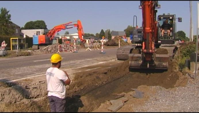 2 maanden verkeershinder door werken aan Aarschotsesteenweg Herselt