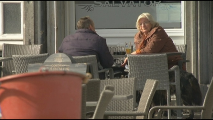 Mechelse terrassen mogen tot nieuwjaar blijven staan