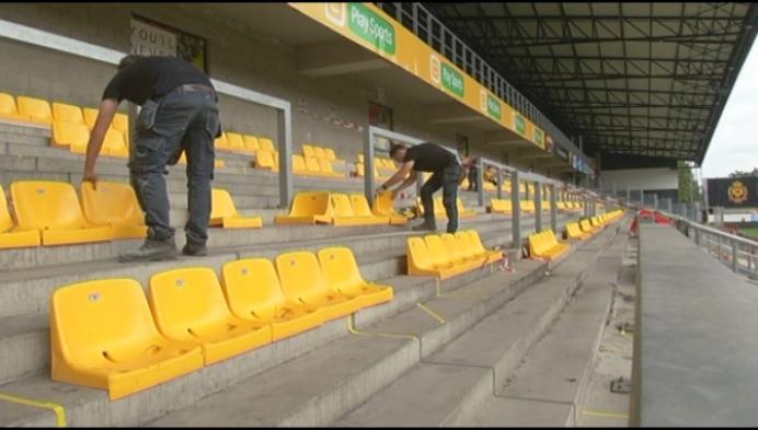 Voortaan alleen nog bubbels van 4 in stadion KV Mechelen