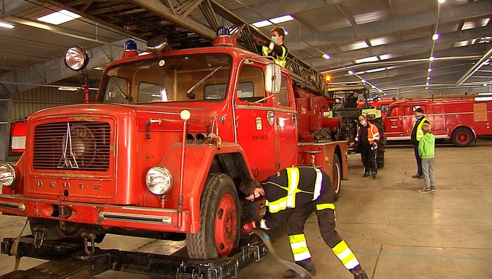 Bijna 200 oude brandweerwagens krijgen nieuwe thuis in Ravels