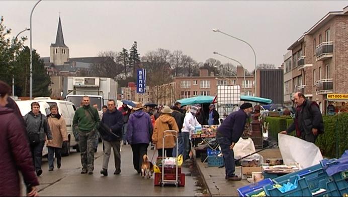 Geen zondagmarkt in Heist tot 31 januari