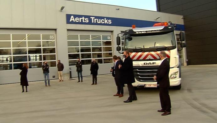 Bornem koopt vrachtwagen die op 'slachtafval' rijdt