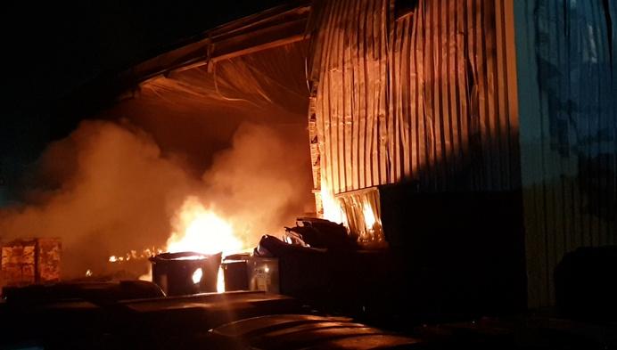 Zware brand in Herenthoutse industriezone